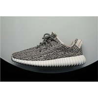 Real Yeezy Boost 350 Turtle Dove Grey Fashion shoes Top Qual...