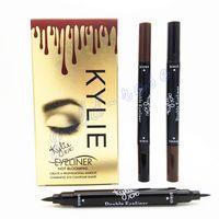 HOT MAKEUP Eyeliner Liquide Pencil Kylie 2 in 1 waterproof B...