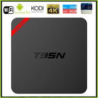 Actualización Amlogic S905X T95N Mini MX + Android TV BOX Kodi 16.0 Android 5.1 4K VS MXQ S805 S905 M8S TV BOX