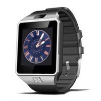 DZ09 Smart Watch Bluetooth Sync Carte SIM En Stock pour iPhone 6 Plus Samsung S6 Note 5