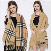 2016 New Winter Tartan Scarf Plaid Blanket Scarf Unisex Acry...