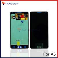 Pour Samsung Galaxy A5 A500 A5000 LCD écran tactile de remplacement réparation Assemblée Digitizer Bleu Blanc Or
