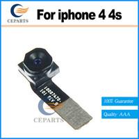 100% original des pièces de rechange de téléphone mobile très haut Front Camera Lens Module avec câble Flex réparation pour Apple iPhone 4 4g avec expédition rapide