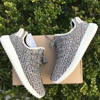 Milan Turtle Doves 350 Boost Shoes Men Running Shoes Kanye M...