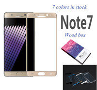 For Samsung Note 7 Note7 N930 3D Curved screen printing Temp...