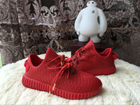 2016 Discount KANYE WEST 350 Boost 350 Leather Men Running S...