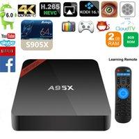 NEXBOX A95X 4K Smart Android TV Box Amlogic S905X Quad Core ...