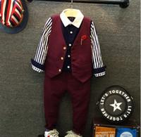 Gentleman Autumn Winter Boys Clothing Christmas Boy 2pcs Set...
