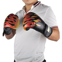 SUTEN Adult Flame Boxing Gloves Professional Sanda Boxing Tr...