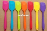 Wedding Candy Cake Spatula Batter Colorful Silicone Batter S...