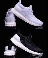 Athletic Ultra Boost Hypebeast Uncaged Black White Low Mens ...