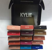 8colors NOUVEAU Kylie Lip Gloss Lipstick Boxset 1 Lipstick + 1 Lipliner Kylie Jenner Matte Lipstick avaialable maintenant