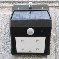 Solar Power Outdoor LED Wall Light with 2 Modes Motion Senso...