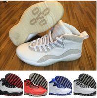Wholesale Retro 10 OVO Basketball Shoes Retro 10s CHI Sports...