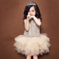 Summer Baby Girls Princess Dress Mesh Children Girls Clothin...