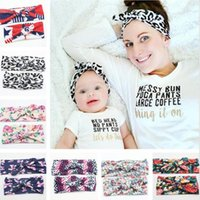 2016 New Mom and Me Matching Headbands With Knit Cotton Baby...
