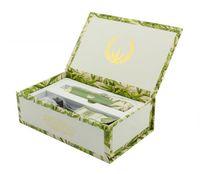 100% de haute qualité Snoop Dogg Green série florale kits Snoop chien Dry Herb Vaporisateur Kit E cigarette avec 2200mah batterie par ePacket