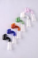 Nouveau en stock Colorful verre Banger 14 mm femelle banger miel bol en verre de seau de verre seau