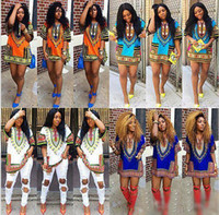 2016 women summer dress Traditional African Print Dashiki Dr...