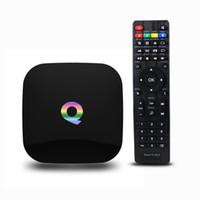 Q Box Android Tv Boxes Amlogic S905 64bit Kodi16. 0 WiFi Blue...