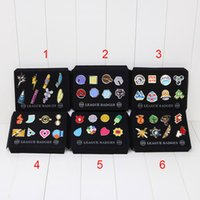 Wholesale EMS 40sets Poke Badge Pikachu Brooch Zinic Alloy B...