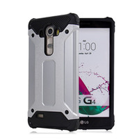 Silver Cell Phone Cases for LG G4 G5 K10 V10 S770 Steel Armo...