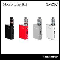 Authentic Date Smok Micro ONE Starter Kit Micro TFV4 Réservoir et 80W R80 TC Box Mod 100% Original
