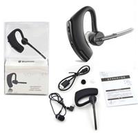 Oreillette Bluetooth Voyager Legend avec le texte et réduction du bruit Casque stéréo Ecouteurs pour iPhone Samsung Galaxy HTC