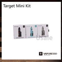 Char de Garde Vaporesso Target Mini 40W TC Starter Kit 1400mAh Target Mini Mod Batterie 2.0ml Avec CCELL MTL Coil 100% Original