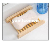 Novelty Households Product Wood Soap Dishes Tray Wooden Box ...
