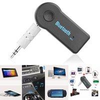 3.5mm mains libres sans fil Bluetooth V3.0 stéréo Récepteur Audio Musique avec micro pour Kit voiture AUX audio domestique Bluetooth Mini voiture