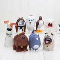 8pcs lot 6- 13cm PVC The Secret Life of Pets Snowball Gidget ...