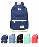 New Arrival Women' s Backpack Canvas Printing Backpacks ...
