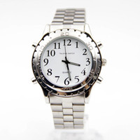 talking watches for blind uk uk delivery on talking watches men s auto date round 2016 watches for blind or visually impaired watch simply english talking clock stainless steel relogios masculinos 25