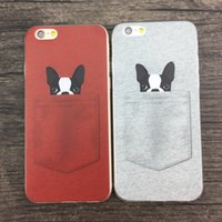 Soft TPU Case for iPhone SE 5 6 6+ Bulldog TPU Case for Sams...