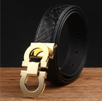 mens Brand designer belts luxury genuine leather belts for m...