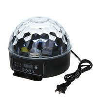 Effetto Digitale LED RGB di cristallo Magic Ball della luce della fase di DMX 512 discoteca DJ illuminazione della fase mostrano H9198