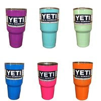 Yeti Mugs Large Capacity Stainless Steel Tumbler Mugs 2016 Y...