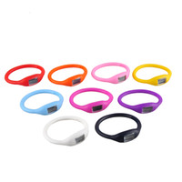 Kids Candy Color Anion Pedometers Silicone Fitness Tracker S...