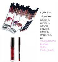 2016 Kylie lip Velvetine Liquid Matte Lipstick in Red Velvet...