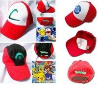 New 4 style Poke Ash Ketchum Trainer Hat Costume Cap Adult M...