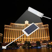 Водонепроницаемый 15 LED панели солнечных батарей свет уличный свет солнечный датчик освещения Открытый Ультра-тонкий водонепроницаемый солнечный датчик Wall Street Light # 27