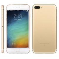 Goophone i7 плюс 5,5 дюйма 1: 1 MTK6582 Quad Core карты SD 512M 4G + 8GB Показать 1G 128GB Показать поддельные 4G LTE Android 6.0 2G телефонный звонок клон телефона