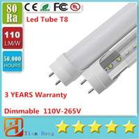 Led Tube Dimmable 4ft 1200mm T8 Led Tube Light High Super Br...
