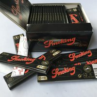 King Sizer Brown Deluxe Smoking Rolling Paper 1: 1 Clone 110 ...