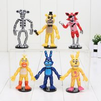 6pcs lot Five Nights At Freddy' s FNAF Bonnie Foxy Fredd...