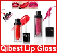 QIBEST LIPGLOSS Waterproof Beauty Makeup LipStick Velvet Mat...