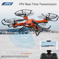JJRC H12WH 2.4GHz 4CH WiFi en temps réel Transmission Air Press maintien d'altitude RC Quadcopter Drone avec appareil photo 2