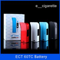 Authentic ECT eT 60 wk 2600mah 50W 200- 600 Fahrenheit 1W- 60W...