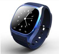 Nueva Bluetooth inteligente Relojes M26 para el iPhone 6 / 6S Samsung S5 / S4 / 3 Nota HTC Android Teléfono SmartWatch Hombres Mujeres del precio de fábrica de la nave libre